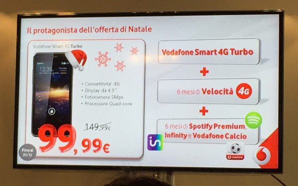 Vodafone Smart 4G Turbo